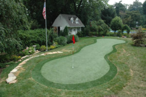 Synthetic Turf Golf Green Montgomery County, PA