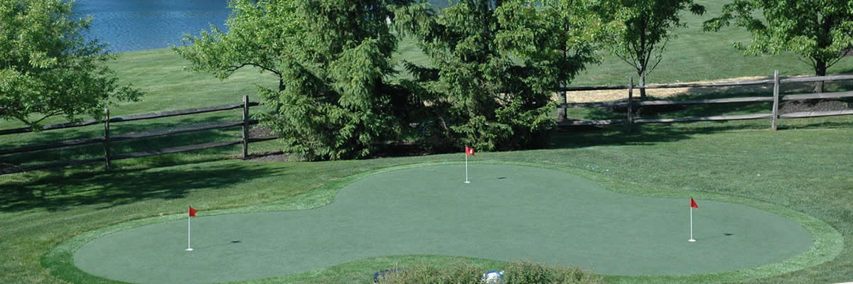 Professional Golf Putting Greens